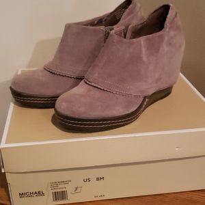 Ankle wedge boot size 8